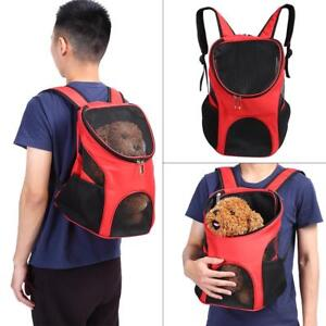 Pet-Carrier-Backpack-Comfort-Mesh-Pup-Pack-Breathable-Great-for-Travel-Hiking
