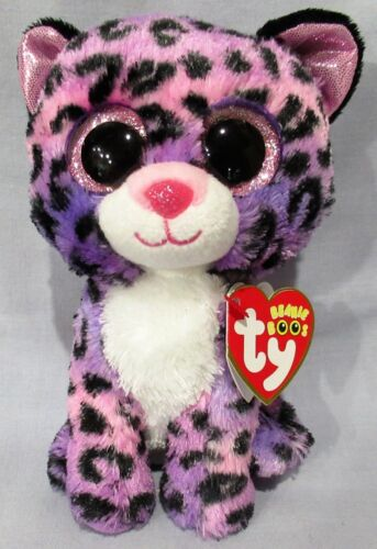 JEWEL the Leopard - Ty 6  Beanie Boos - NEW w/ MINT TAGS  Justice Exclusive