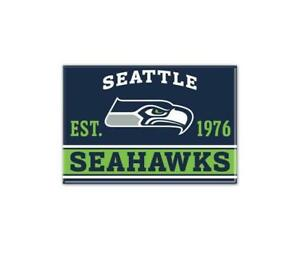 Seattle-Seahawks-Foto-Magnet-mit-Logo-NFL-Football-Team-Gruendungsjahr