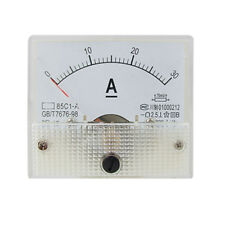 85C1 Analog Current Panel Meter DC 30A AMP Ammeter SY