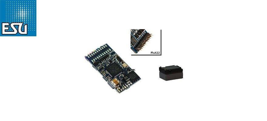 ESU 58412 LokSound v5.0  Universal rumore anche programmare  plux22 NUOVO + OVP