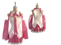 Vocaloid Sakura Miku Cosplay Costume Dress NEW