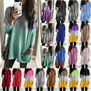 Women-Long-Sleeve-Pullover-T-shirt-Casual-Loose-Tunic-Tops-Jumper-Sweater-Blouse