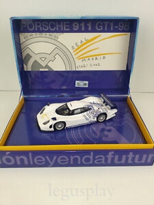 Slot-Car-Scalextric-Fly-RM01-Porsche-911-GT1-98-Real-Madrid-Centenary-190