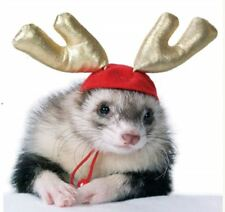 Marshall Ferret Toy Christmas Reindeer Deer Antler Hat - Holiday Antlers