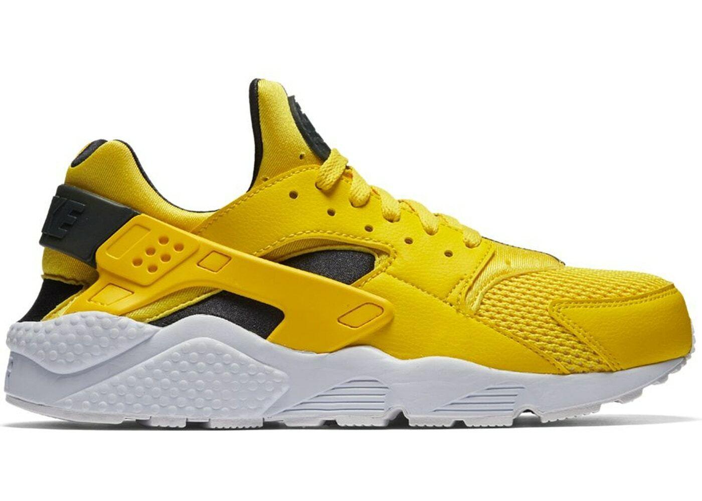 Nike Air Huarache Run Tour Yellow Size 13. 318429-700 react vapormax max
