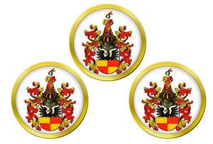 Hildesheim-Allemagne-Marqueurs-de-Balles-de-Golf