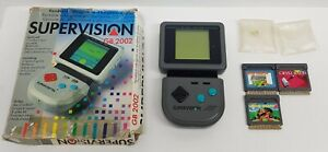 Supervision-Console-GB-2002-Handheld-Console-3-Games-Boxed-Tested-amp-Working