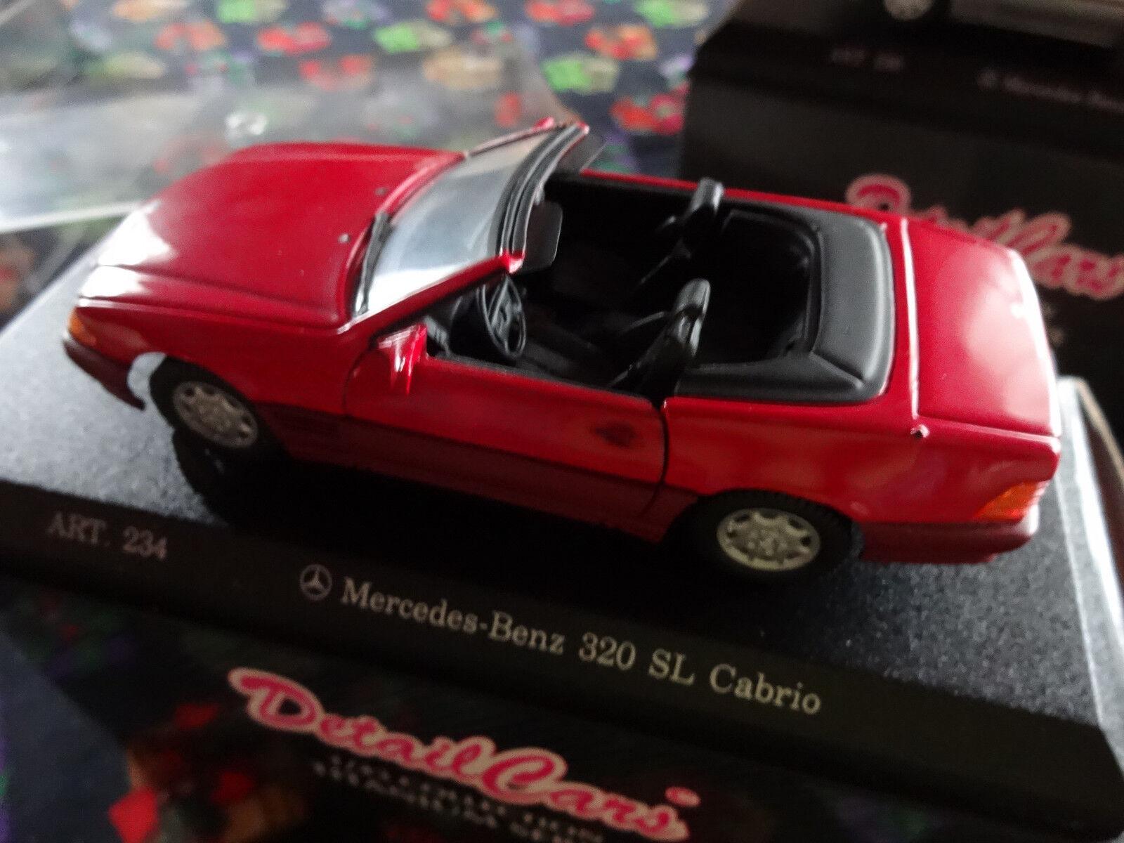 Lot de 4 Mercedes 320 320 320 SL de fabrication DétailCars Titanium (voir détail) | Pratique Et économique  69106d