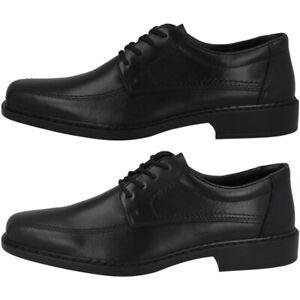Details zu Rieker Schuhe Men Herren Halbschuhe Antistress Business Leder Schnürschuhe B0812