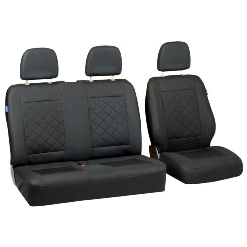 Intensive Black Seat Covers for Man Tge Car Seat Cover Set 1+2