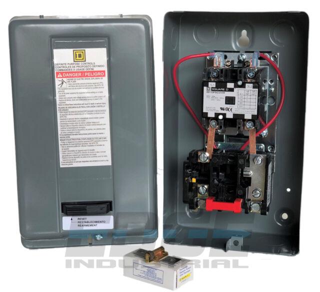 Elimia 30HP Rotary Phase Converter Starter Magnetic Motor Starter Switch 230V