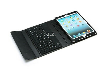 PU Leather Case Cover Built-in Bluetooth Wireless Keyboard for iPad Air 1 2