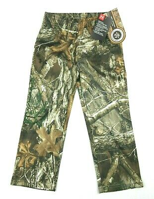 NWT $43 Under Armour Realtree Edge Boys/' Field Camo Pants 2T and 3T