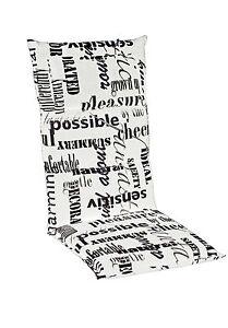 doppler luxus gartenm bel hochlehner auflagen 5120 polster kissen 8 cm einlage ebay. Black Bedroom Furniture Sets. Home Design Ideas