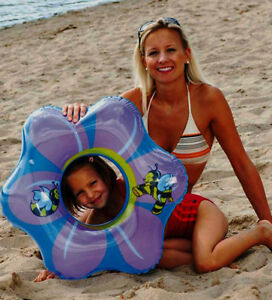 Schwimmring-Schwimmreifen-Blume-Flower-ca-65-cm-Happy-People-NEU