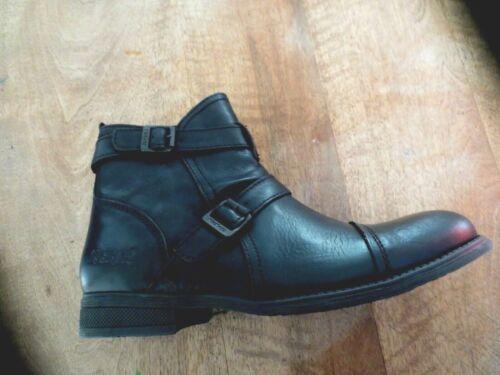 43,44 Boots KICKERS Manuello cuir noir NEUVE Valeur 139E Pointures