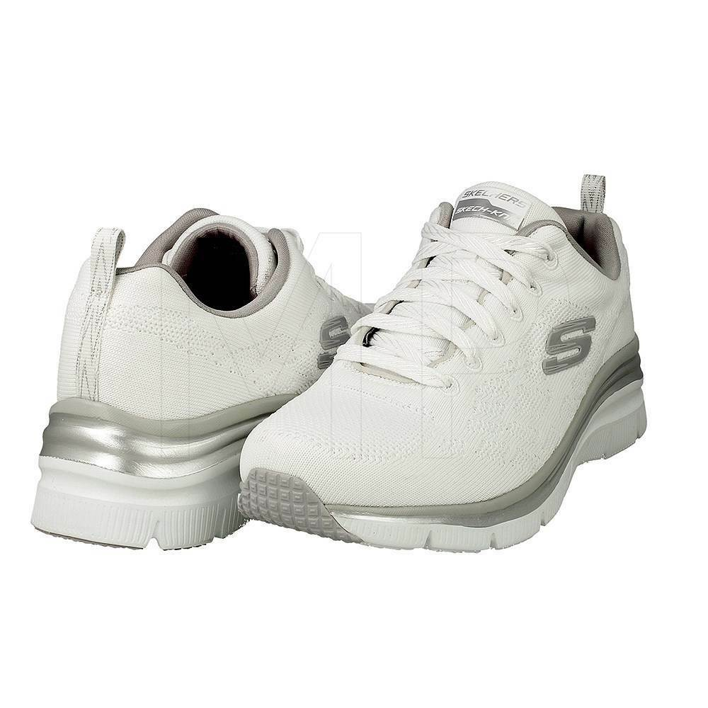 SKECHERS femmes  FASHION FIT STYLE CH-IC AIR COOLED MEMORY FOAM 12703 / WHT  blanc