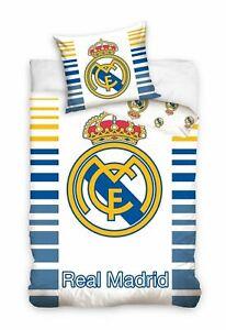 Details Zu Real Madrid Bettwasche Fussball Ronaldo Baumwolle 140x200 70x80 Fans Artikel