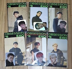 EXO-OBSESSION-SMTOWN-OFFICIAL-GOODS-HOLOGRAM-PHOTO-CARD-SET-SEALED