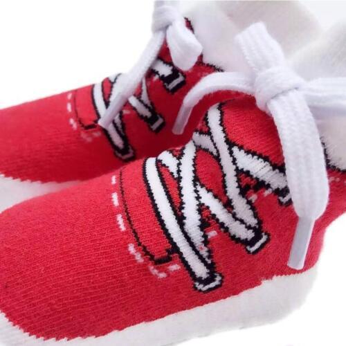 Baby Girls Boys Shoelace Shaping Socks Infant Newborns Breathable Cotton Socks