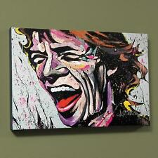 "David Garibaldi ""Mick Jagger-3"" Limited Edition Giclee on Canvas with COA"
