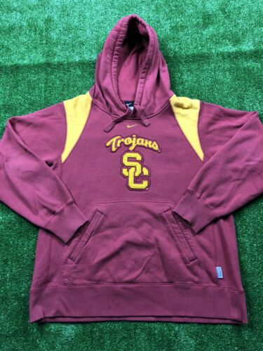 Vintage Nike x USC Trojans Center Swoosh Hoodie Re