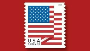 USPS USA Forever Stamps Flag-100 Stamps Per Roll and FREE Shipping:Limit