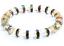 miniature 2 - Bracelet Red C Zirconia Natural Crystal Agate Stone Yoga Beads Women UKseller
