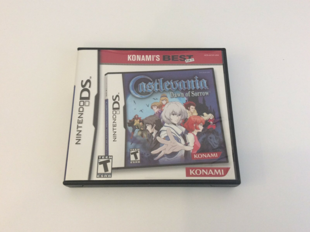 Castlevania - dawn of sorrow, Nintendo DS, action, med…