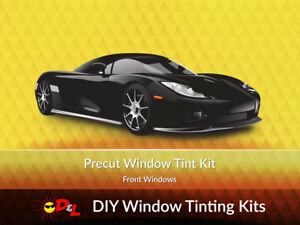 Front Window Tint >> Details About Pre Cut Window Tint Kit Front Windows Only For All Vehicles