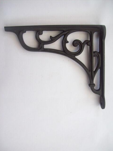 Cast Iron vintage rustic Shelf Support Book Sink Toilet Cistern Bracket//Hook