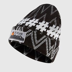 7cb2ca00999 Image is loading Nike-Sportswear-Sweater-Cuffed-Hat-Beanie-Black-amp-