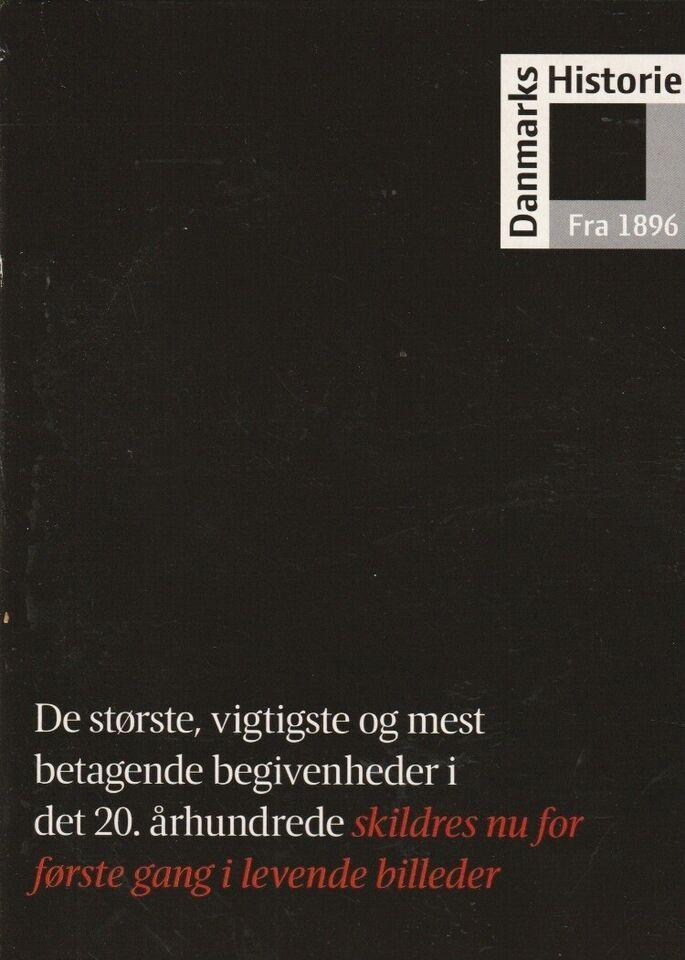 Danmarks Historie fra 1896-1993, instruktør 15 DVD, DVD