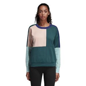 c5ace72653 Adidas Femme Sweatshirts Id Glory Course Décontracté Élégant Mode ...