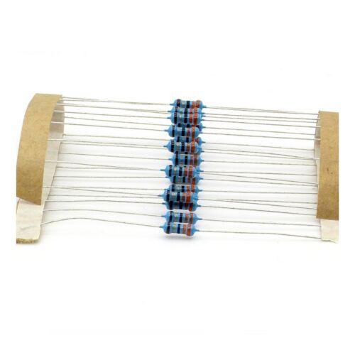 141res241 20x metal resistors 1//4 w 33ohm 0.25w 1/% 33r