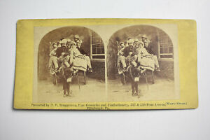 Antique-Stereoview-Card-Advertisement-H-F-BRUGGEMAN-GROCERIES-PITTSBURGH