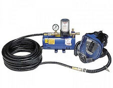Allegro 9210-01 One Worker Full Mask System with 100' hose