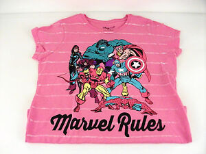New-Disney-Marvel-tshirt-size-youth-XL-14