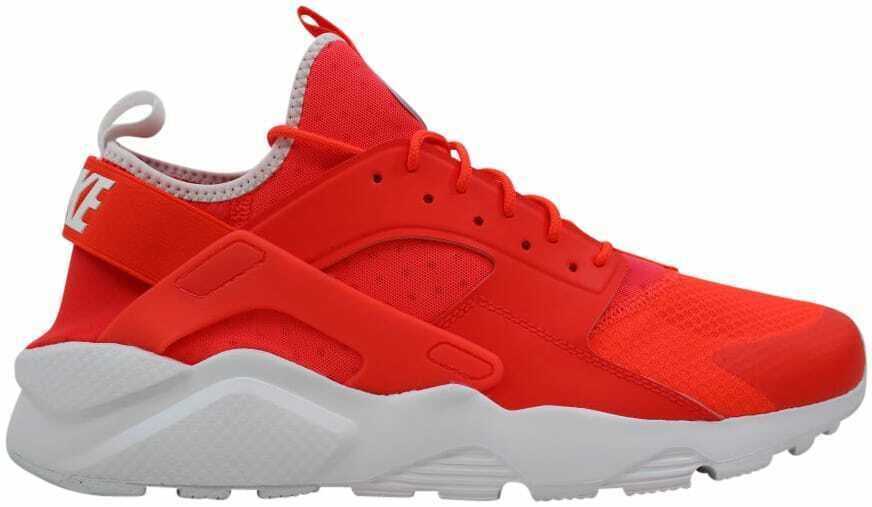 Nike Air Huarache Run Ultra Bright Crimson Pale Grey-White 819685-602 Size 11.5