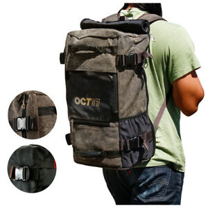 Men-039-s-Vintage-Canvas-Backpack-Travel-Sport-Rucksack-Satchel-School-Hiking-Bag
