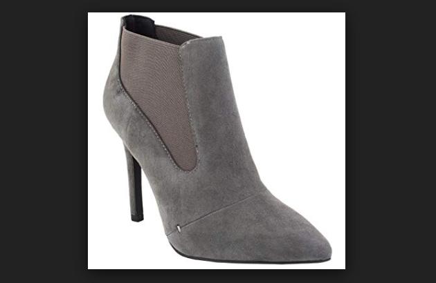 sconto online di vendita H by Halston Suede Pointed-toe High High High Heel Ankle stivali - Regina grigio 5.5 NEW  autorizzazione