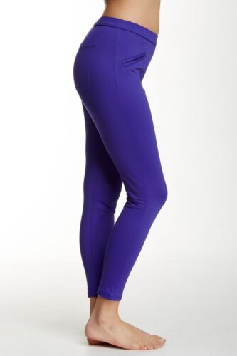 M Hue Leggings Satin Jersey Stretch Skimmer Leggings  XS XL L S