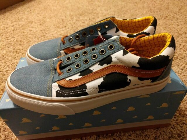 5278cc3cf3 Vans old skool toy story woody cowboy denim disney cow print low andy all  new jpg