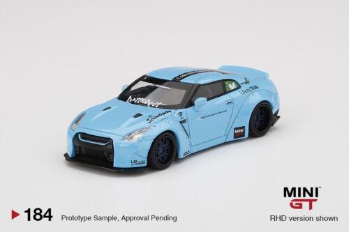 MiniGT Scale 1//64 Nissan GT-R R35 LBWK Rear Wing ver 2 RHD Macau Edition