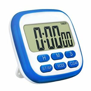 TopElek Kitchen Timer, digital timer for kitchen with larger LCD ...