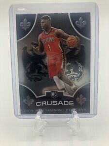 2019-20-Panini-Chronicles-Crusade-Zion-Williamson-Rookie-Card-RC-529-Pelicans