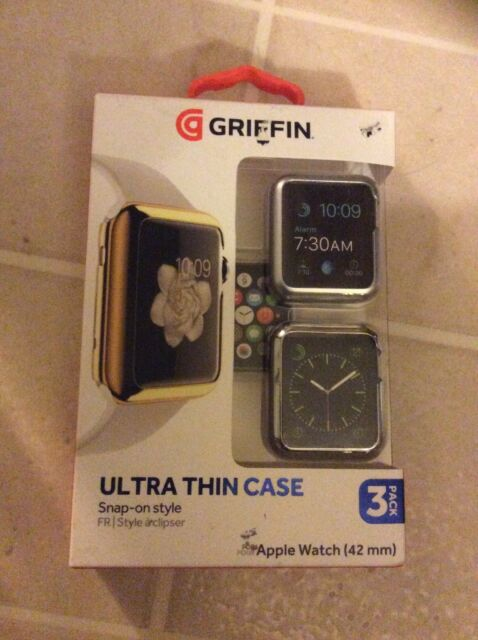 newest 4651f a58b1 Griffin Ultra Thin Case Apple Watch 38mm Or 42mm Size