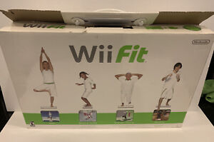Wii Fit (Wii, 2008) - Balance Board + Wii Fit Game + AC Adapter - FREE SHIP