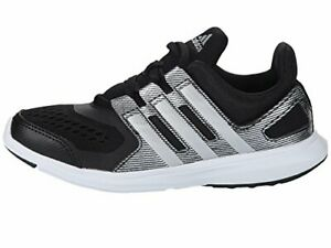 Details about Adidas S82587 Boy's Hyperfast 2.0 Running Shoe Black/Silver #BR28